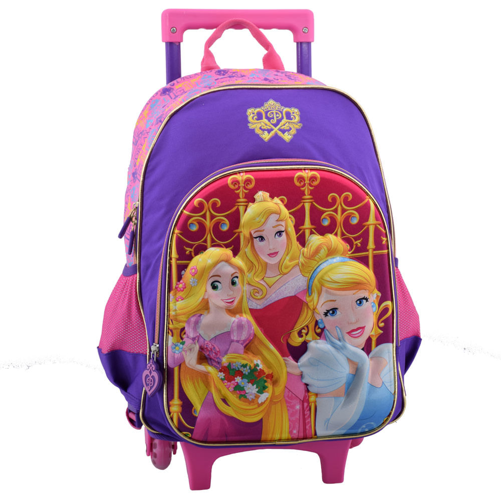 Mochila-Con-Ruedas-Princesas-De-Disney-Dwe166039-Mr - Vasari
