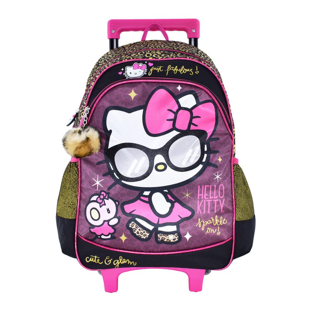 comprar online 04510 a9e37 Mochila Con Ruedas Hello Kitty