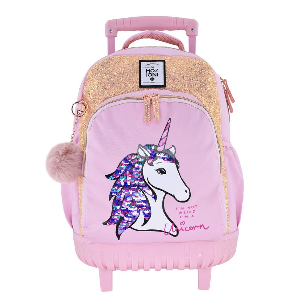 779225f7cbc Escolar-Mochilas-Con-Ruedas-Mochila-Con-Ruedas-Pink-Unicorn ...