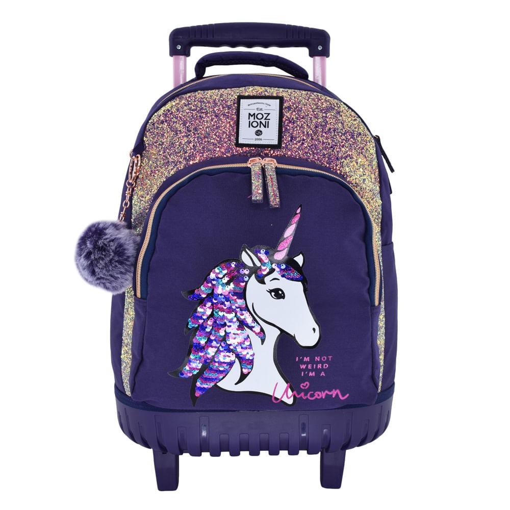 a84dc1ab8dc Escolar-Mochilas-Con-Ruedas-Mochila-Con-Ruedas-Blue-Unicorn ...